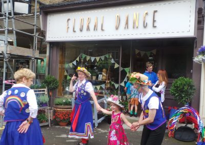 Floral Dance Opening Day