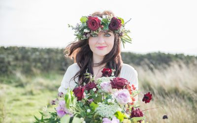 Floral Dance Florist and Jenny Maden Photographer team up for Wedding Shoot on Ilkley Moor