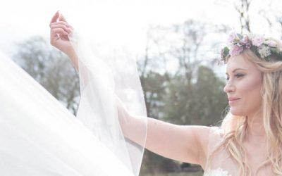 Ilkley Wedding Florist | Floral Dance Bridal Shoot at Ilkley River