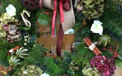 Wreath Making Workshop Review