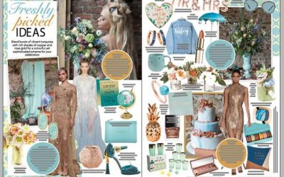 Featured in Wedding Flowers and Accessories Magazine