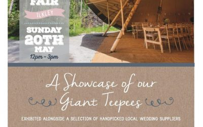 See Me at the TeePee Wedding Fair – 20th May 2018